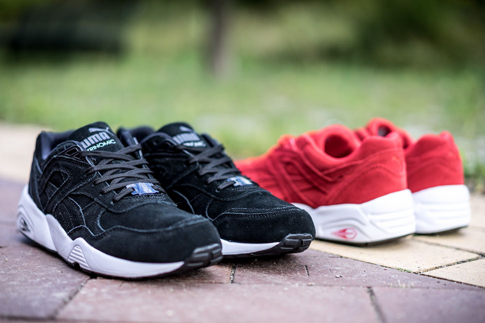 puma basket trinomic r698