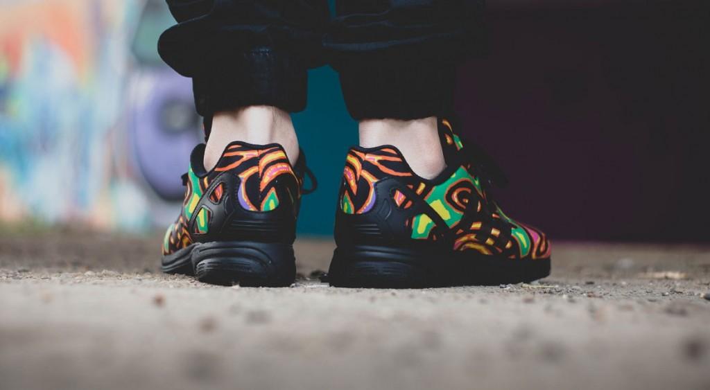 79b6eab1340f Jeremy Scott x adidas ZX Flux Psychedelic - Le Site de la Sneaker