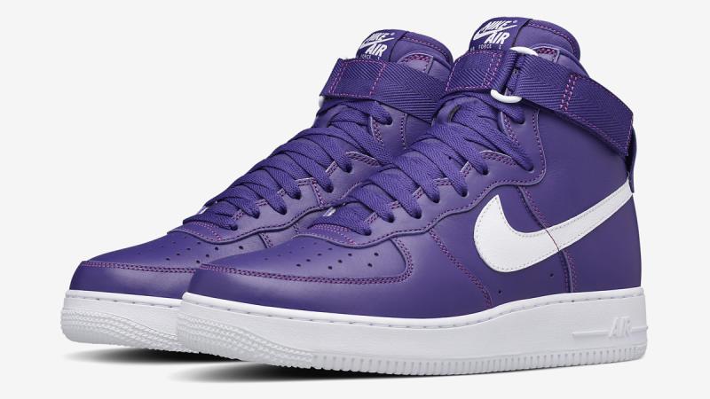 NikeLab Air Force 1 High Purple - Le Site de la Sneaker