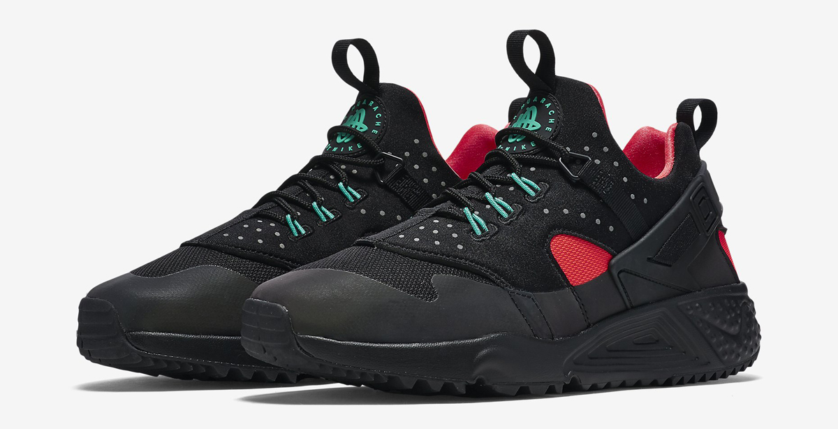 Nike Air Huarache Utility PRM Bright Crimson