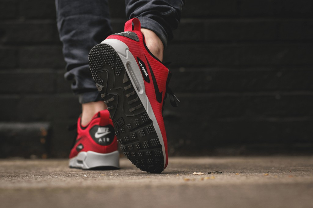 nike air max 90 mid wntr all red
