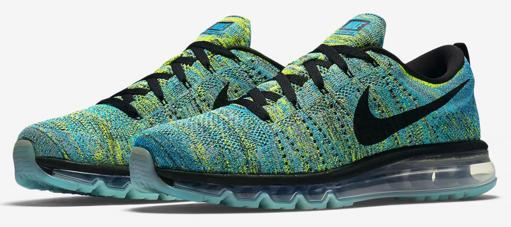 competitive price 4d8a7 85633 ... reduced nike flyknit air max black blue lagoon 620469 16e43 66fd9