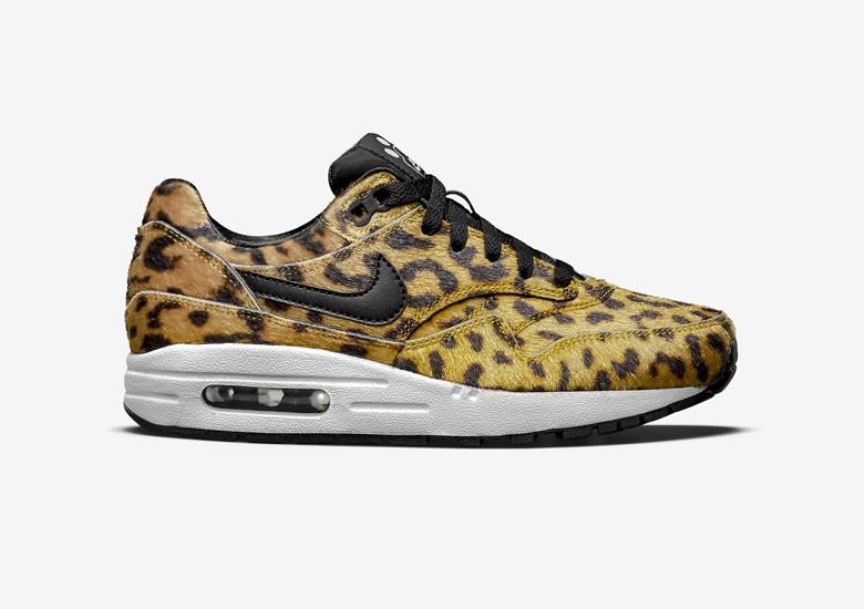 nike leopard print air max 1