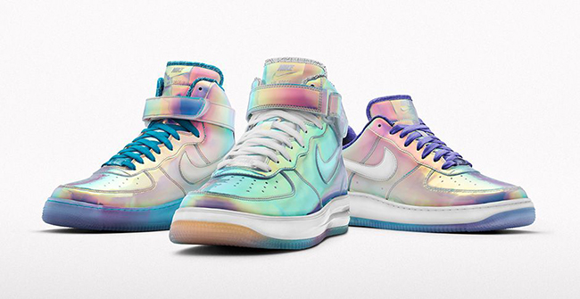 Air 1 Id Nike Iridescent Force rxoWedCB