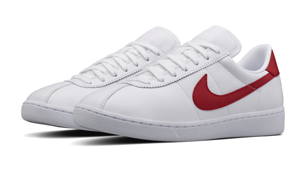nikelab bruin leather white red le site de la sneaker. Black Bedroom Furniture Sets. Home Design Ideas