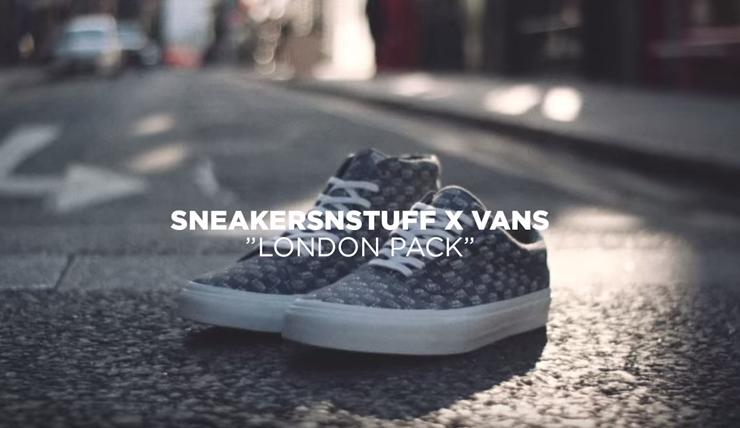 be3d90817d Sneakersnstuff x Vans Vault