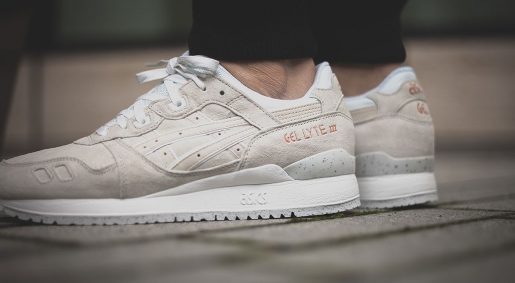 asics gel lyte white rose