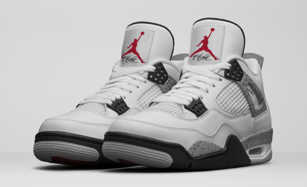 Air Jordan 4 Blanc Noir (1989) Les 6CCZnknE