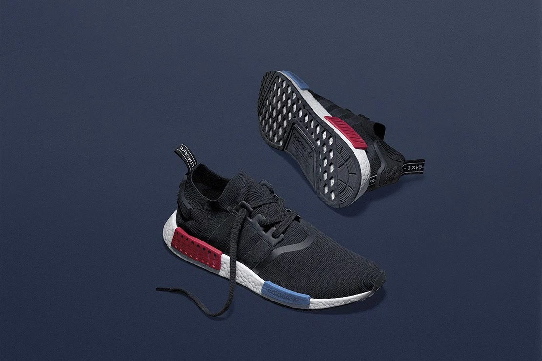 design intemporel bccc3 7fb4a adidas Originals NMD Core Black Red - Le Site de la Sneaker