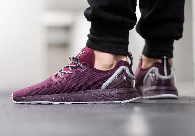 adidas ZX Flux ADV ASYM Maroon Le Site de la Sneaker