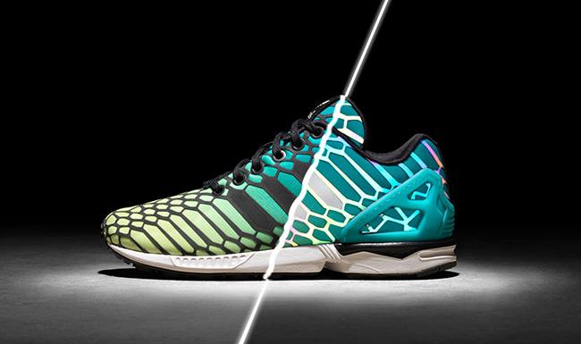 adidas zx flux iridescent