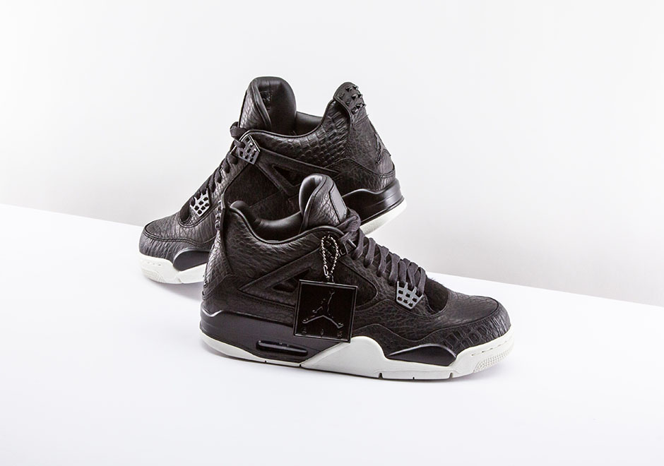 finest selection a29a2 8c919 Air Jordan 4 Pinnacle Black - Preview - Le Site de la Sneaker