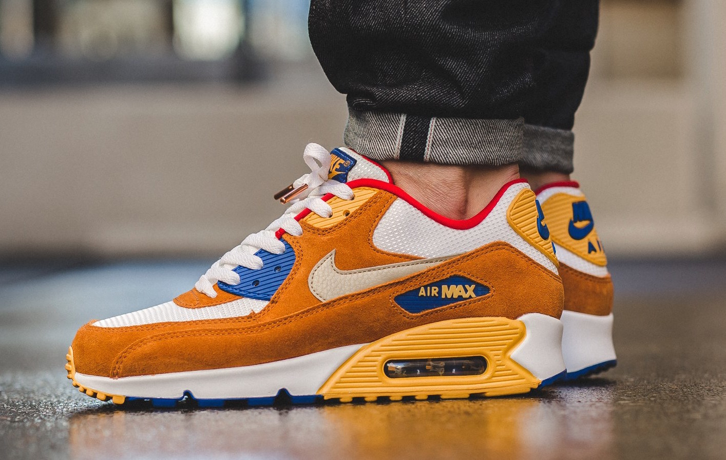 nike air max 90 curry for sale femme