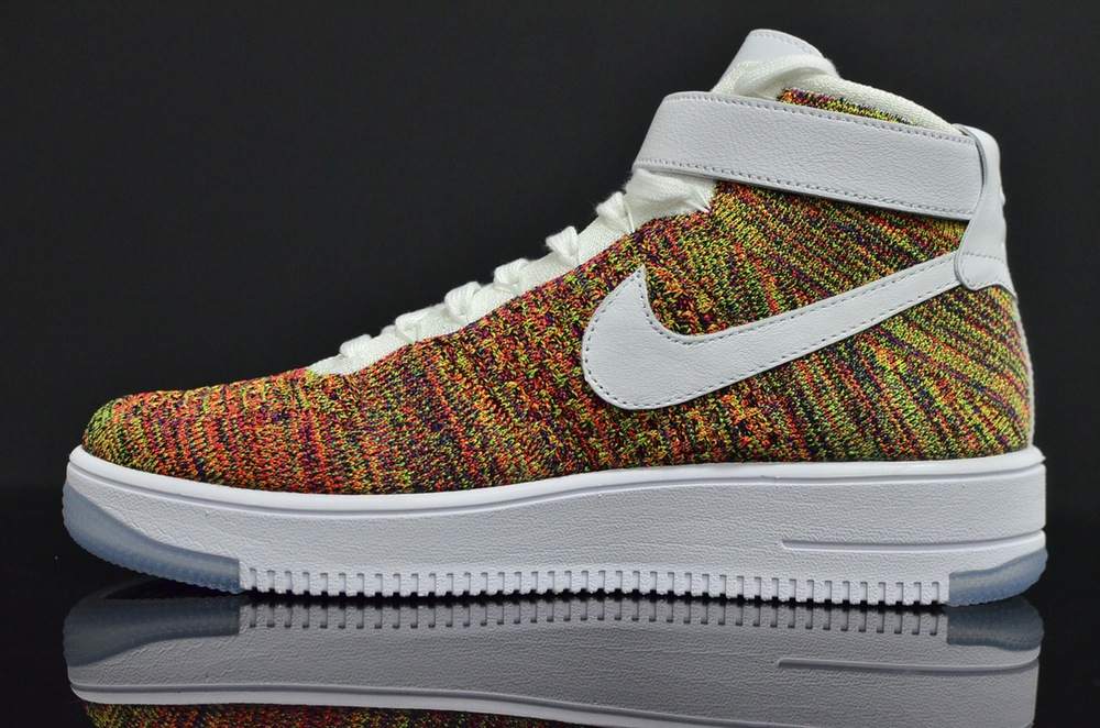 Nike Air 1 Force Flyknit Multicolor hrdCtsQ