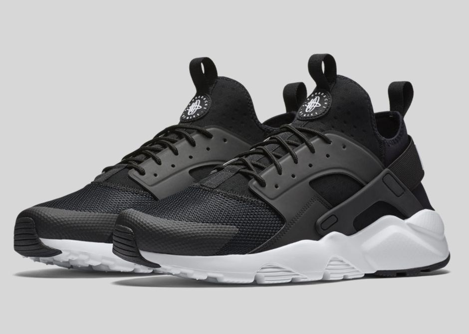 nike,air,huarache,ultra,black,white