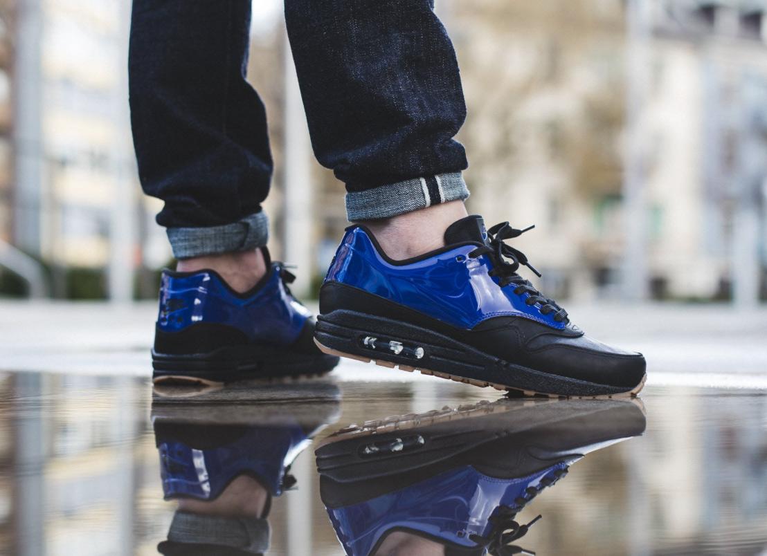Nike Air Max 1 VT QS Deep Royal Blue Black 831113 400