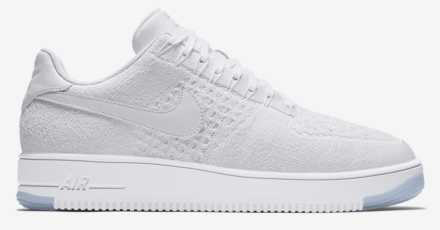 huge discount 9908b df691 Nike Flyknit Air Force 1 White