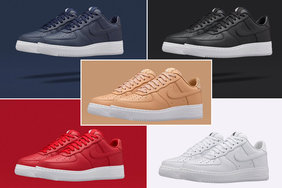 online store 768ab 5c7d2 NikeLab Air Force 1 Low Collection