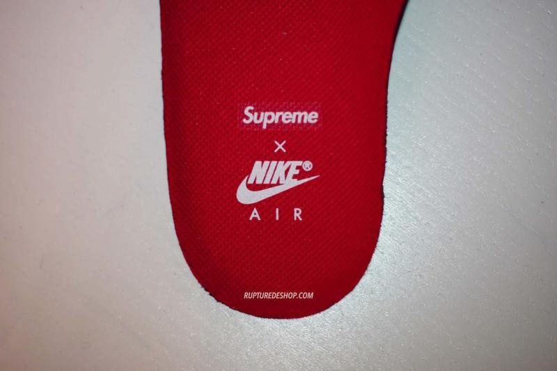 air max 98 x supreme blanche