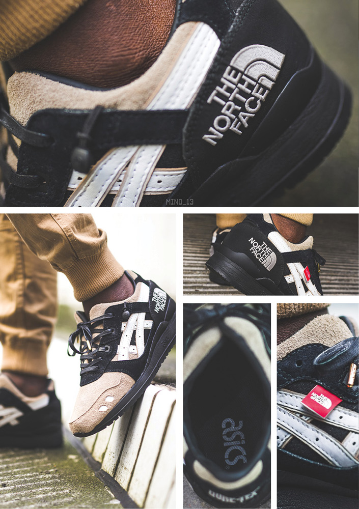 asics x north face