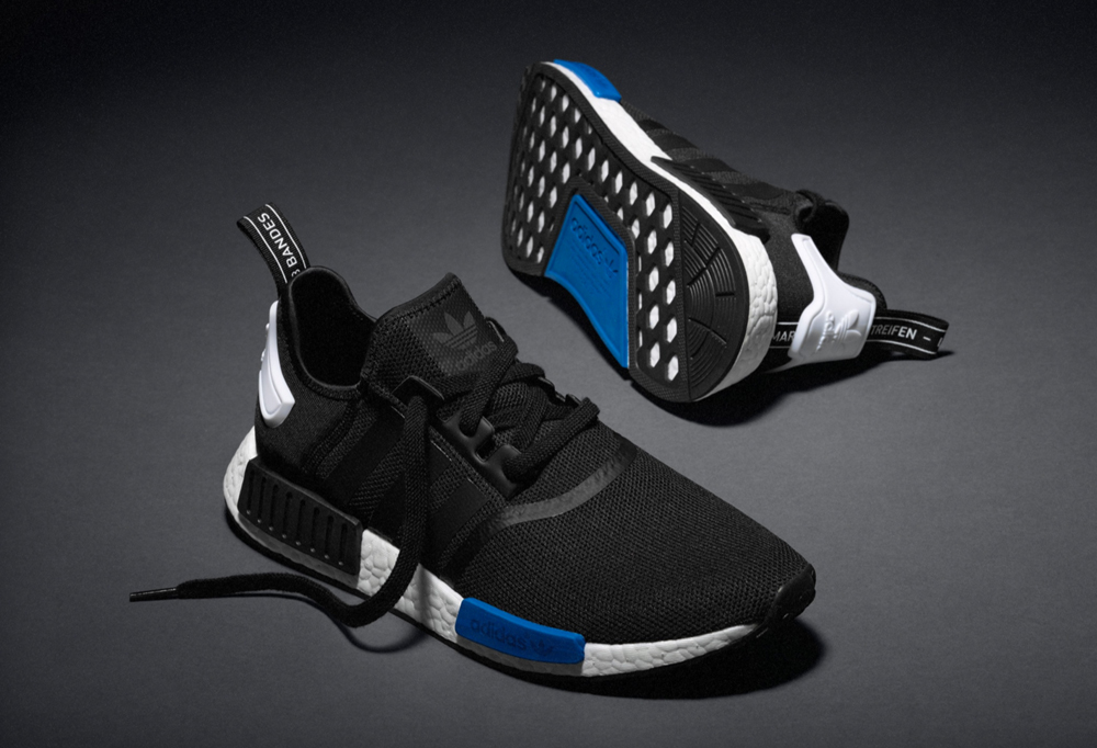 Adidas Nmd Black Blue