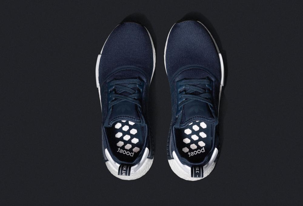 nouveau style 8b1fc 8d8aa adidas NMD R_1 Navy