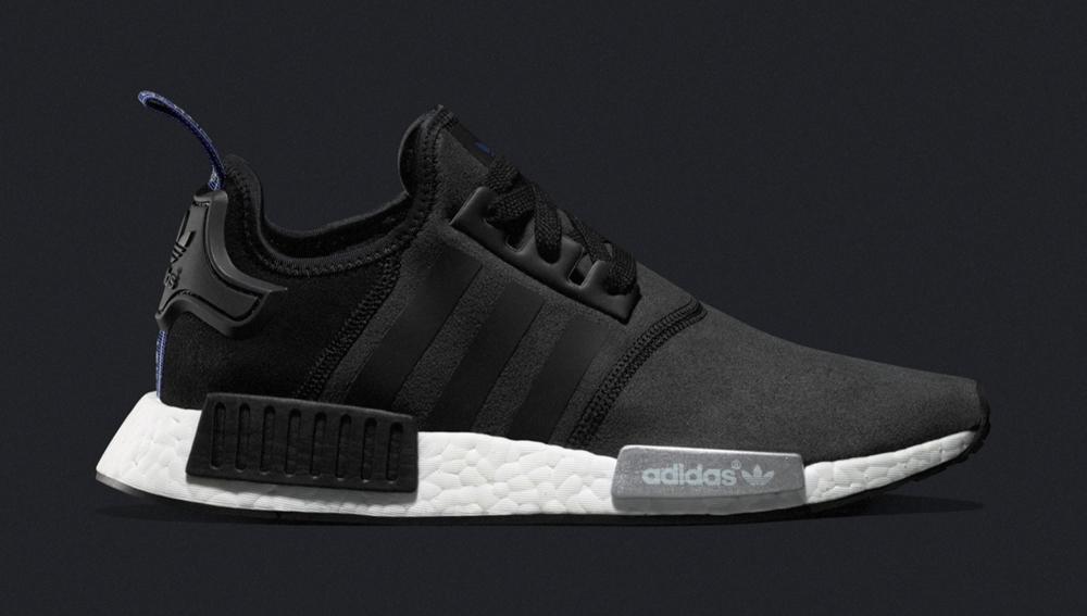 adidas nmd runner suede black 1