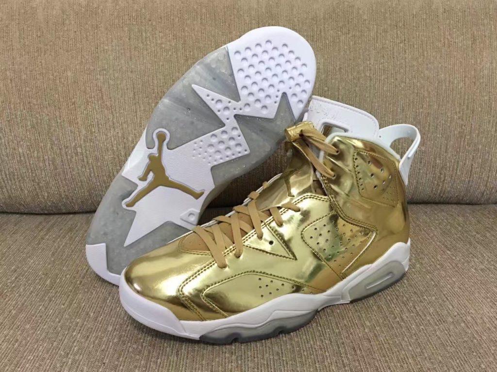 separation shoes 04e9b c8498 Air Jordan 6 Pinnacle Metallic Gold - Preview - Le Site de ...