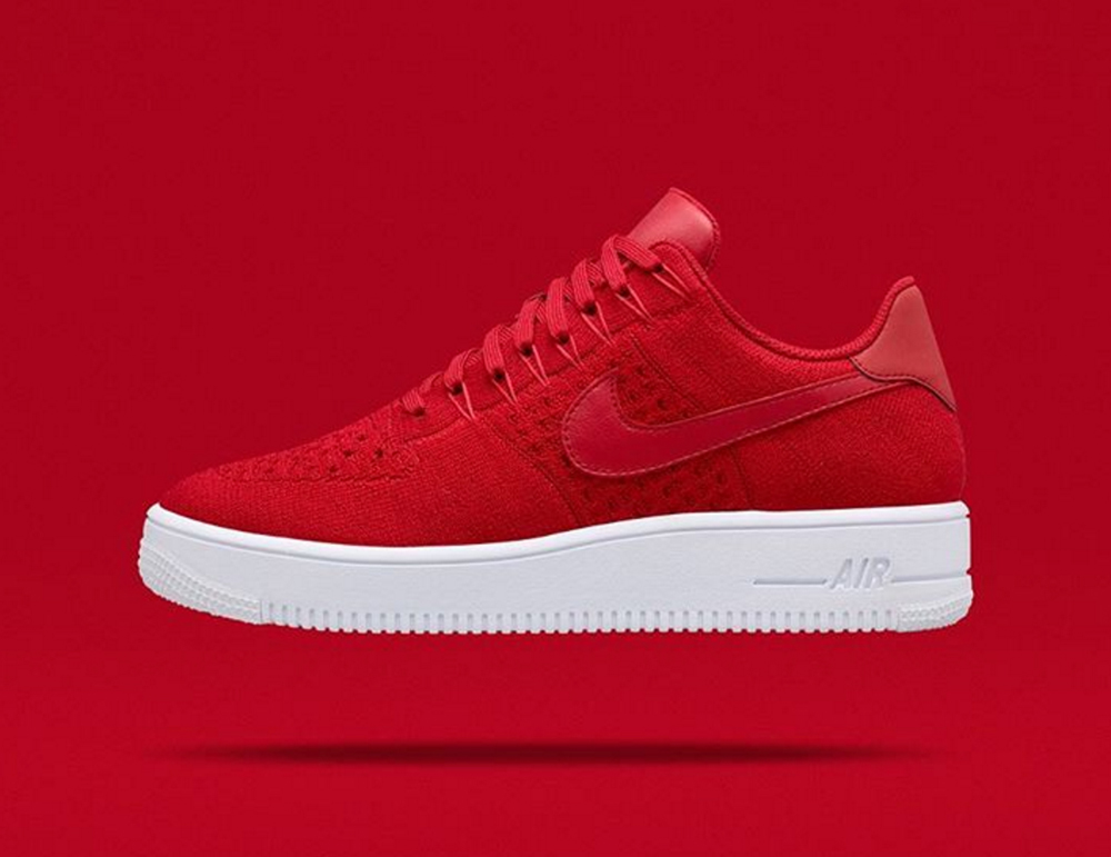 NikeLab Air Force 1 Ultra Flyknit Low Red
