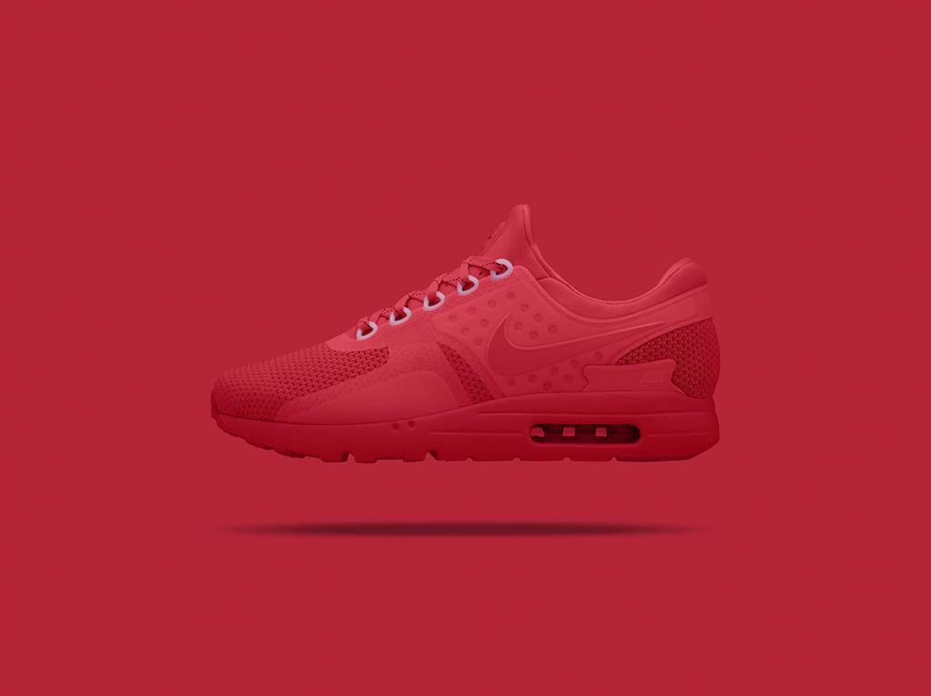 air max zero rouge