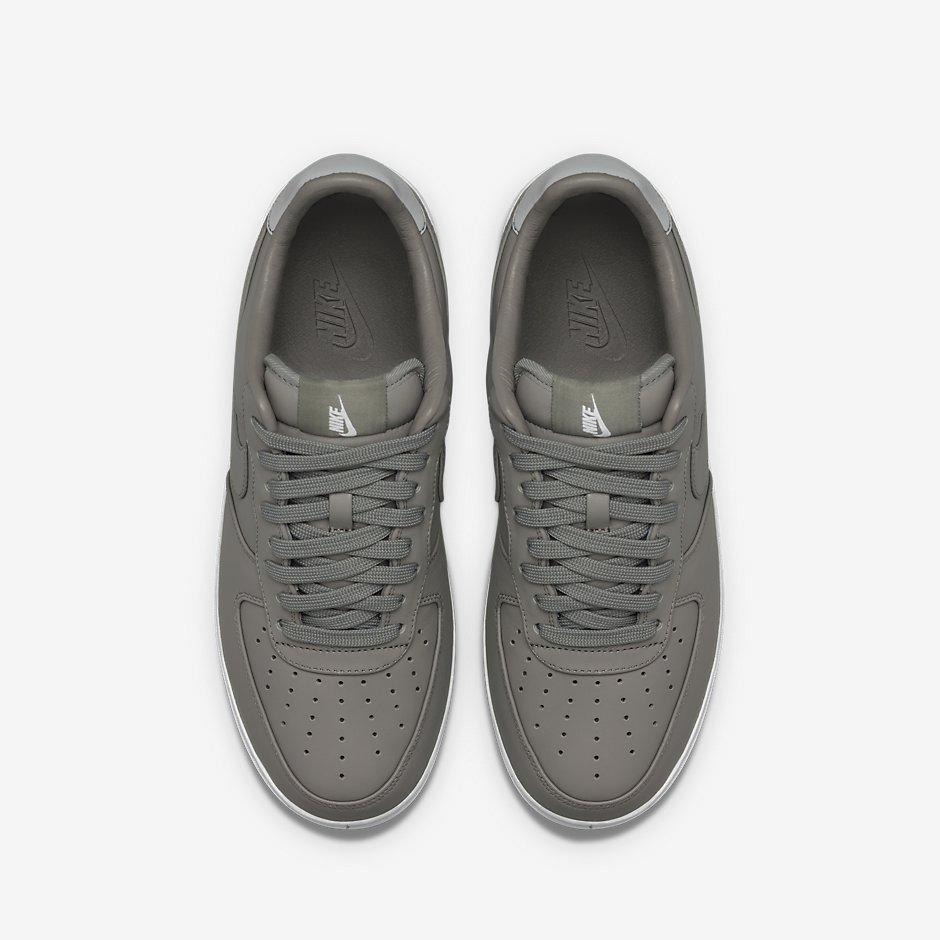design intemporel 20783 377d7 NikeLab Air Force 1 Charcoal & Haze - Le Site de la Sneaker