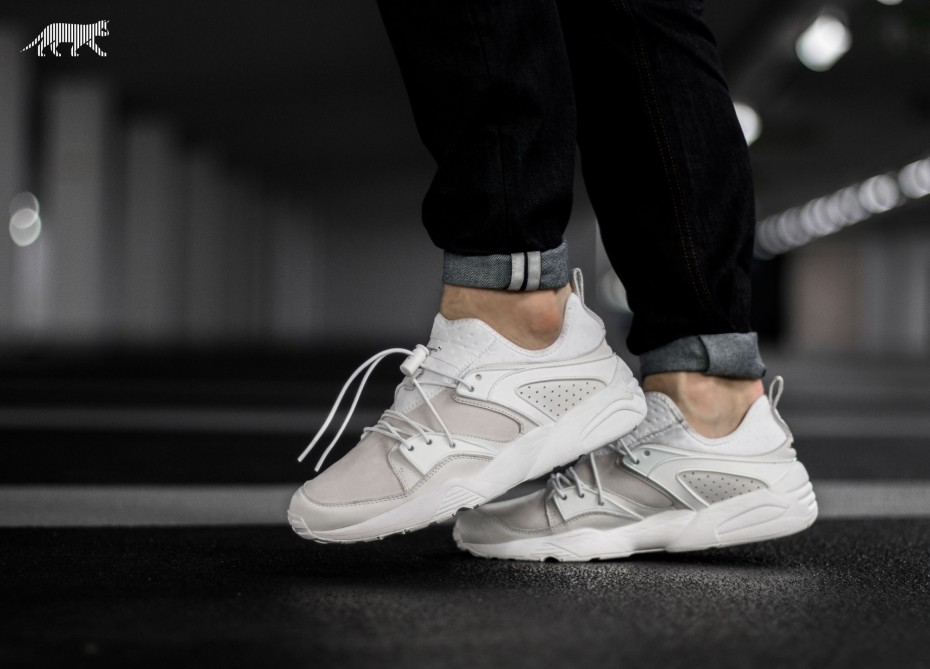 puma blaze of glory beige