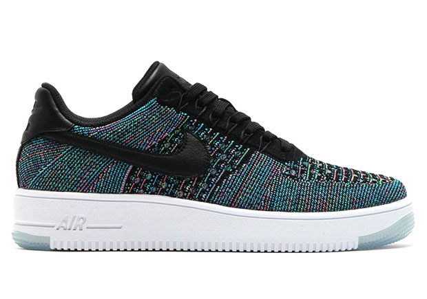 bas prix 3528b 6a2f0 Nike Air Force 1 Low Flyknit Blue Lagoon
