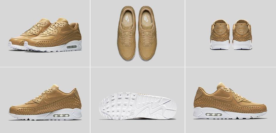 9baa3c58cb6 Nike Air Max 90 Woven Vachetta Tan - Le Site de la Sneaker