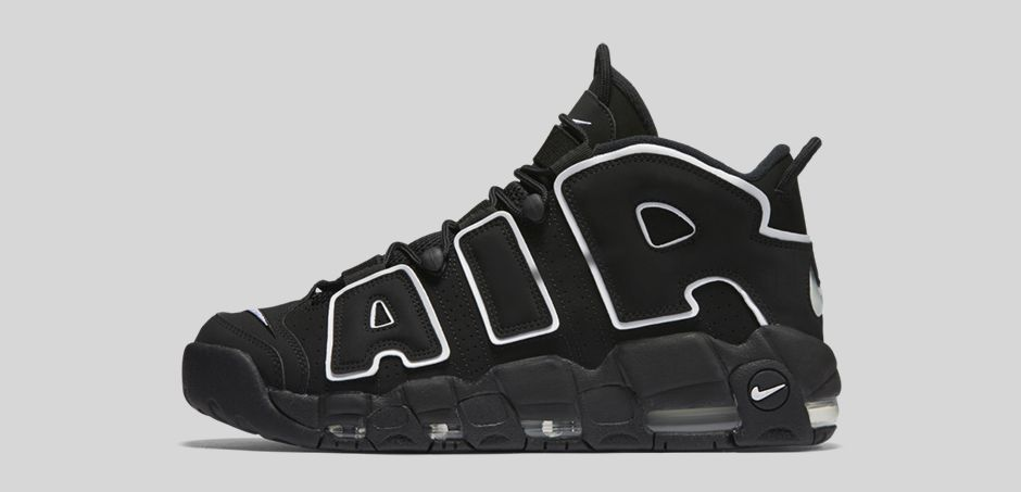 meilleur site web 86708 8f8cc Nike Air More Uptempo OG Black/White