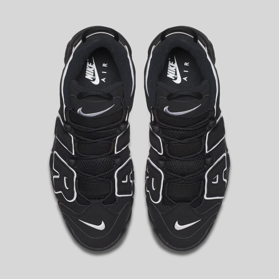 d52224bb7d5cc Nike Air More Uptempo OG Black White - Le Site de la Sneaker