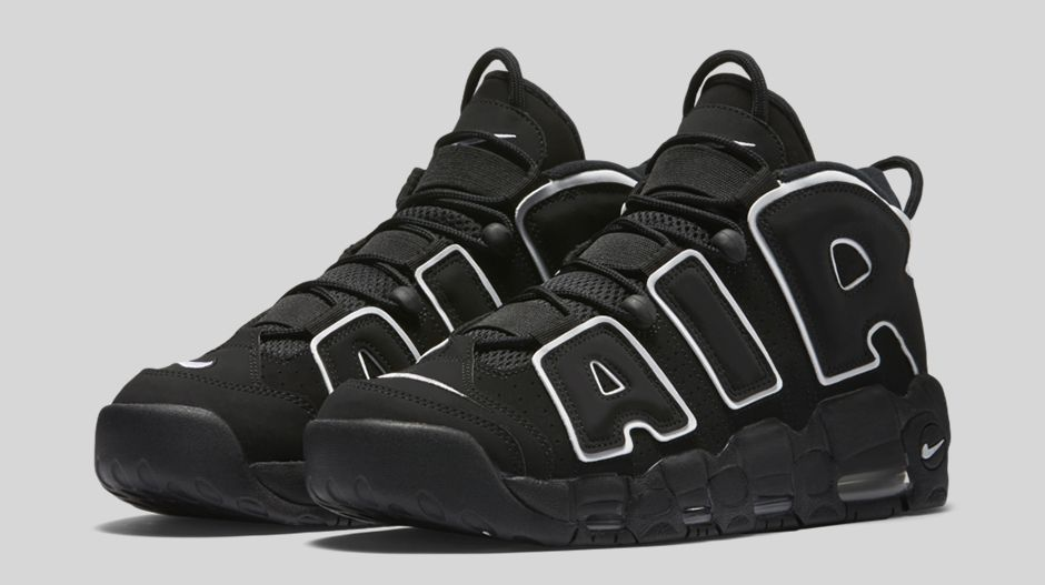 meilleur site web 1063b 4942c Nike Air More Uptempo OG Black/White