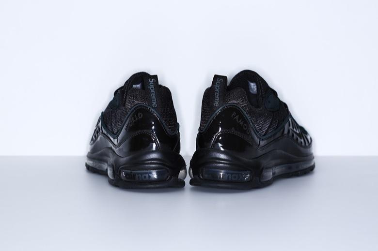 Supreme x Nike Air Max 98 Black - Le Site de la Sneaker e843a87558