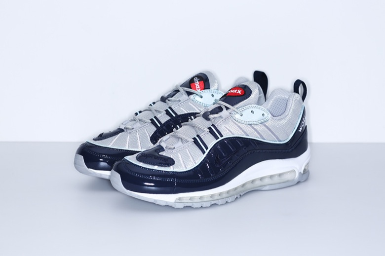 air max 98 x supreme bleu