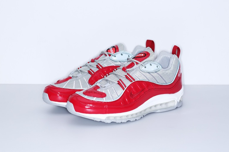 Supreme x Nike Air Max 98 Red
