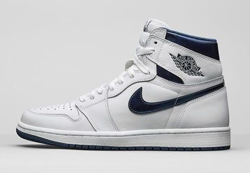Air Jordan 1 Retro High OG Metallic Navy