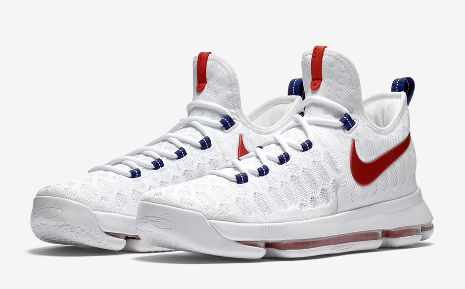 info for 67acb 66e0e where to buy basketball shoes for sale ebay 6838b d1264  spain nike zoom kd  9 white red d0daf 943dc