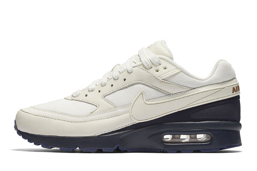 prix d'usine 379f7 bee99 Nike Air Max BW White/Navy-Brown - Le Site de la Sneaker