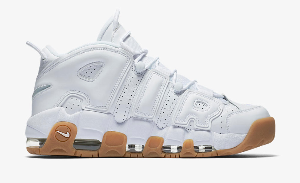 498a338551b1 Nike Air More Uptempo White Gum - Le Site de la Sneaker