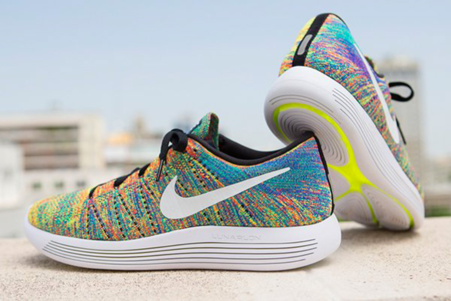 sale retailer 51c57 207d3 Nike LunarEpic Low Flyknit Multi