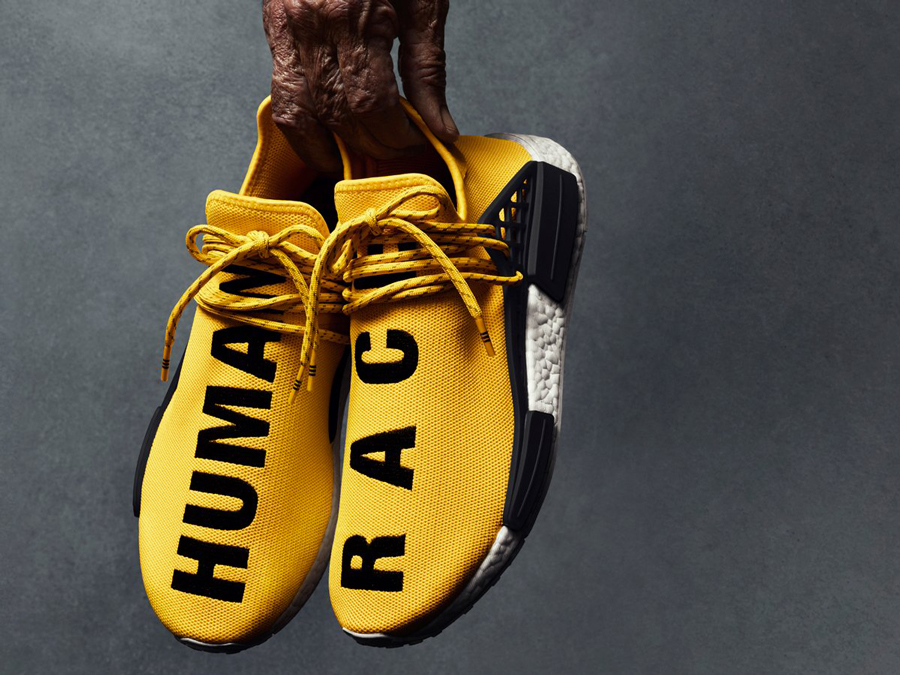 quality design 88e88 49c9e Pharrell x adidas NMD Human Race Yellow