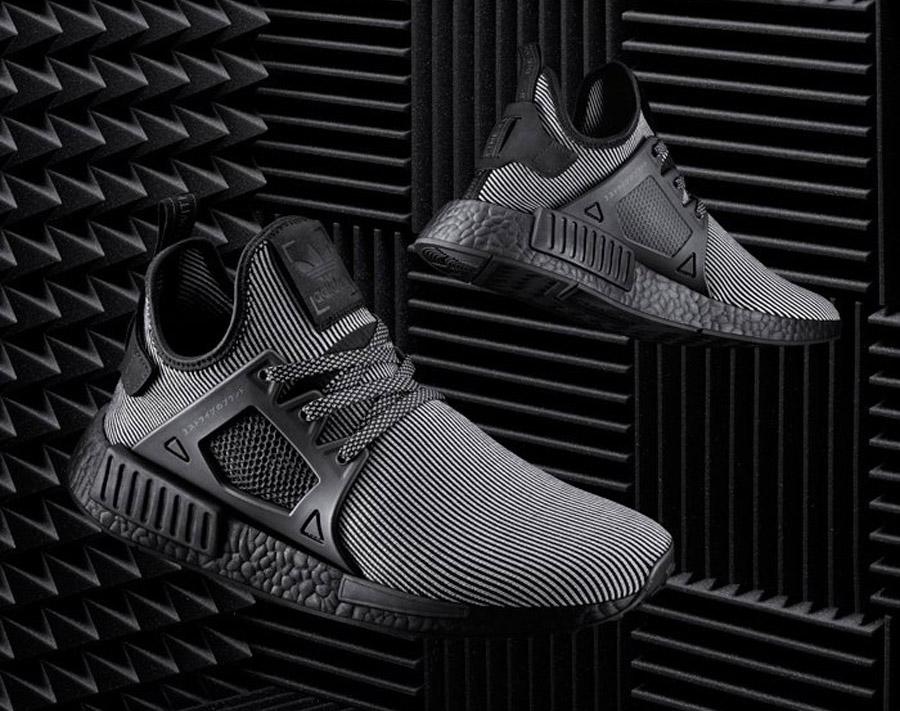 Adidas Xr1 Nmd Primeknit Triple Noir D9qyww