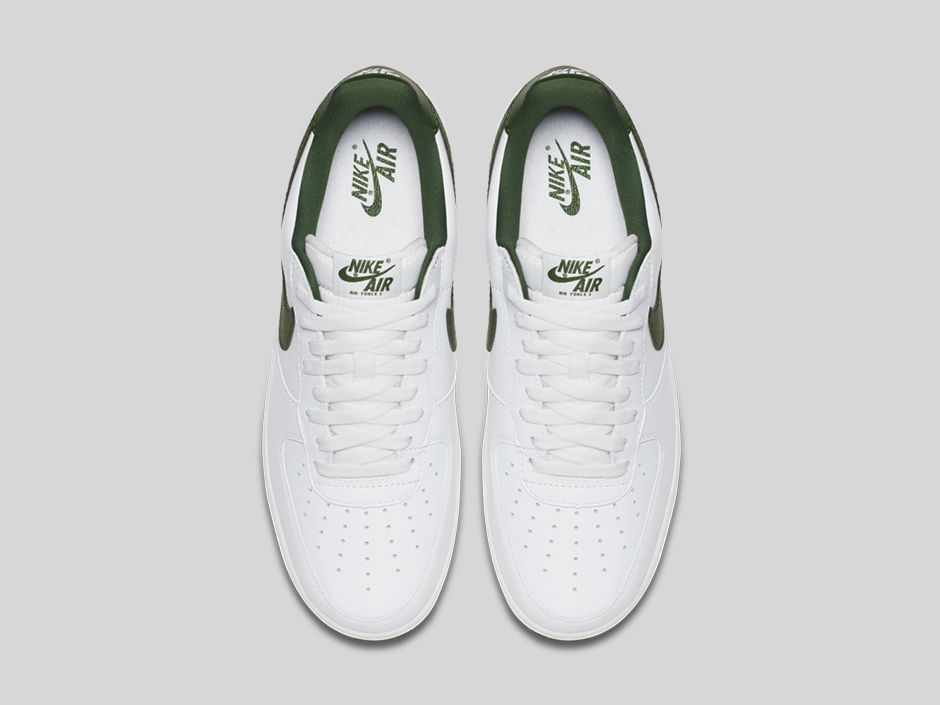 Nike Air Force 1 Low Forest Green White Forest Green 845053 101