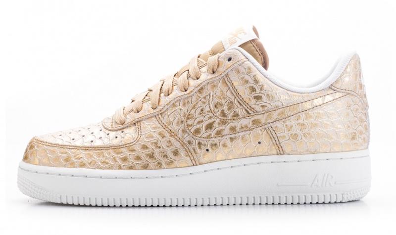 Nike Air Force 1 LV8 Gold Scales Le Site de la Sneaker