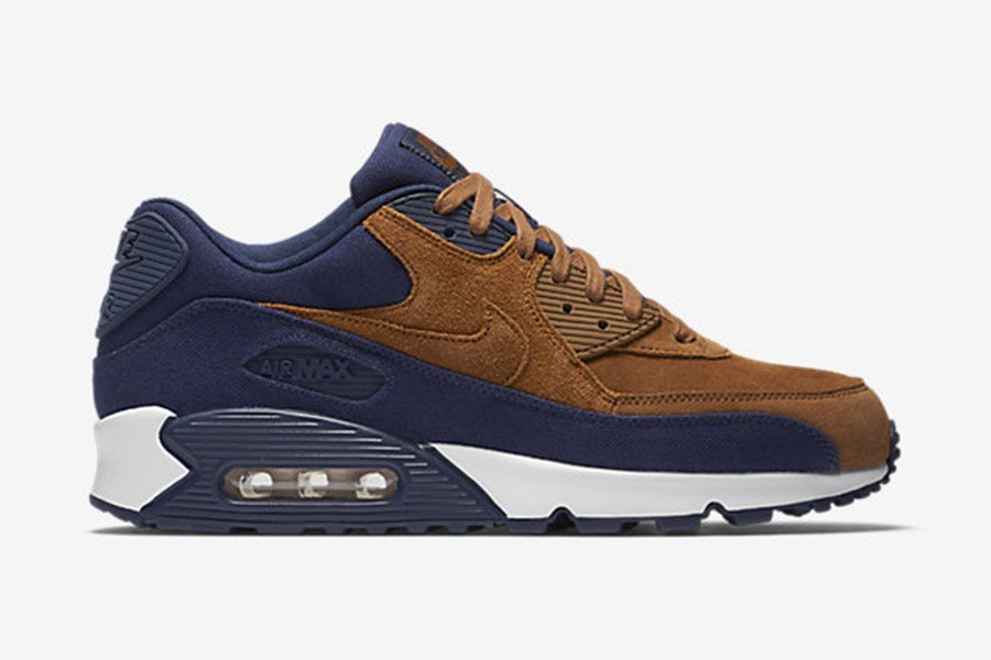 énorme réduction 15043 2aac1 Nike Air Max 90 Premium 'Ale Brown'